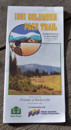 1861 Gold Rush Pack Trail Map - 2003