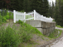 Barkerville Cemetery Wall Project -1991